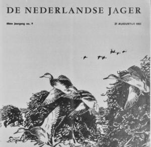 Cover De jager 1955