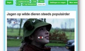 Jagen steeds populairder – Zapp Weekjournaal