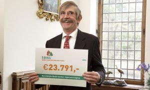 Vossenonderzoek Jagersvereniging ontvangt financiele bijdrage uit fonds SBNL