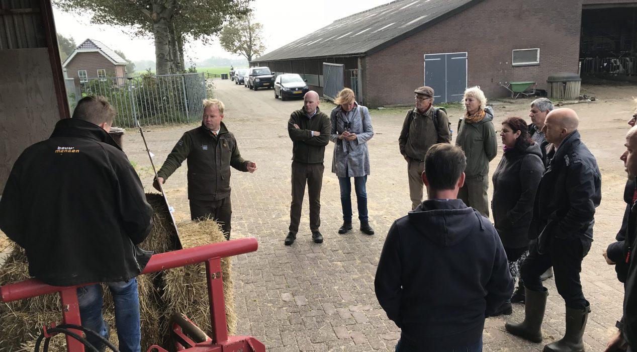 D66 brengt werkbezoek aan de Jagersvereniging