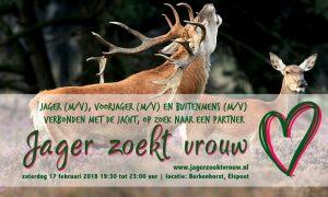 """""""Jager zoekt vrouw"""" – Elspeet"""