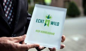 Eerste Echt Wild Keurmerk voor restaurant De Echoput – De Stentor