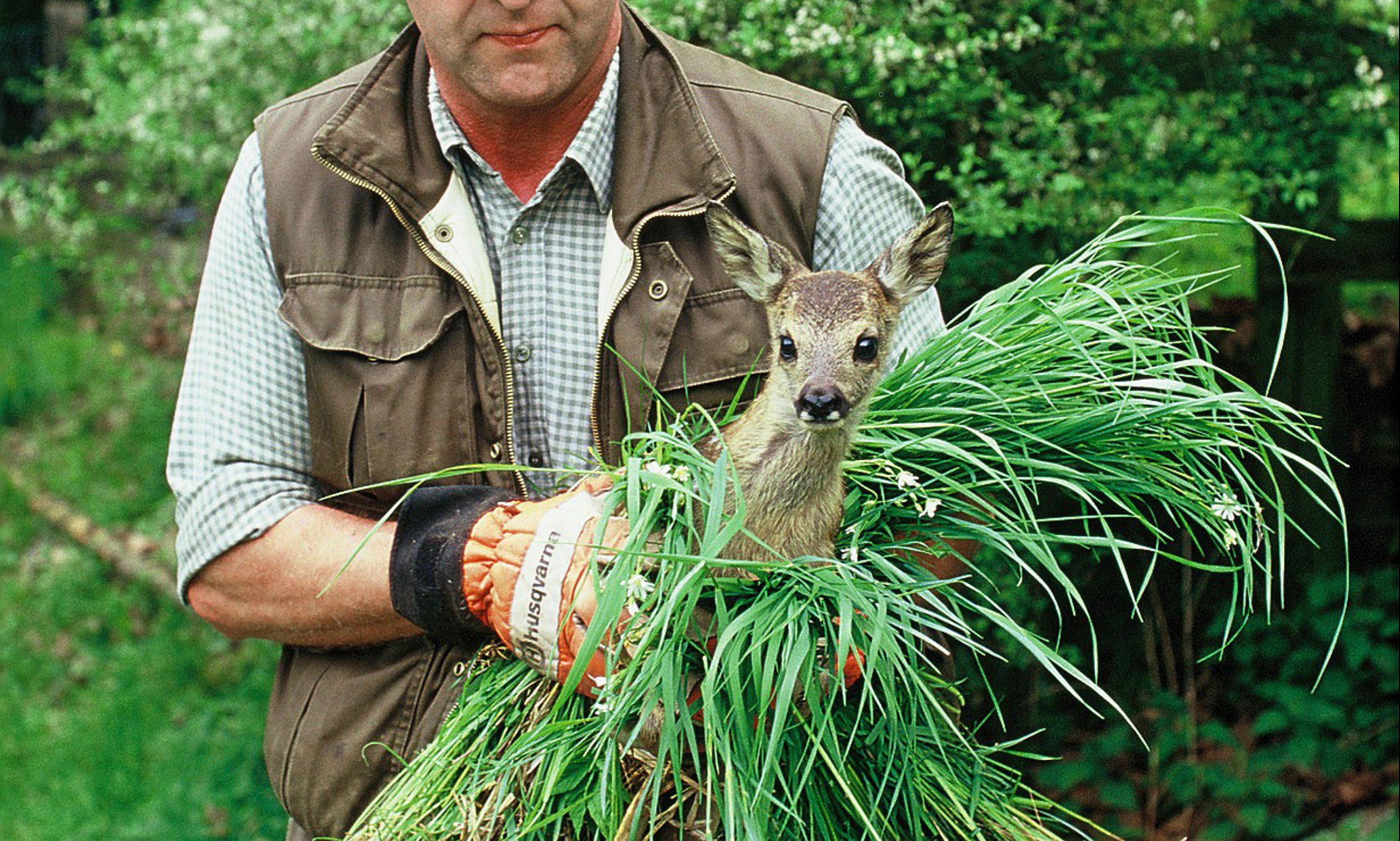 Persbericht – Jagers redden in 2018 272 reekalfjes voor het maaien, een derde overweegt aanschaf drone