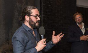 Joel Broekaert tijdens Nationaal Wilddiner: geef vlees weer waarde