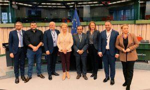 Sterke start voor de jacht in het Europees parlement