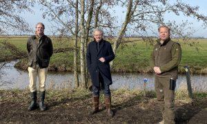 SGP-Kamerlid Roelof Bisschop laat zich informeren over wildlijst door Jagersvereniging in Utrecht