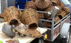 Tachtig rieten broedkorven als veilige plek voor wilde eend in West-Friesland – Noordhollands Dagblad